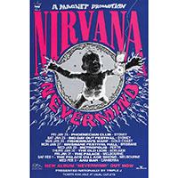 Nirvana- Australian Tour poster