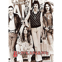 Black Sabbath- Early Band Pic Giant Poster
