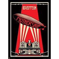 Led Zeppelin- Mothership Giant poster