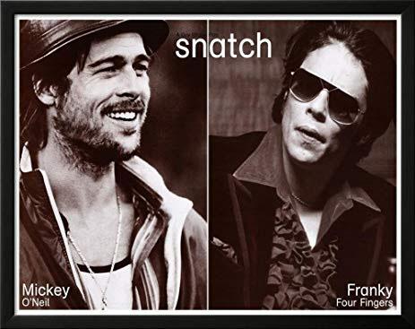 Snatch- Mickey & Frankie poster