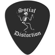 Social Distortion- Skelly Guitar Pick