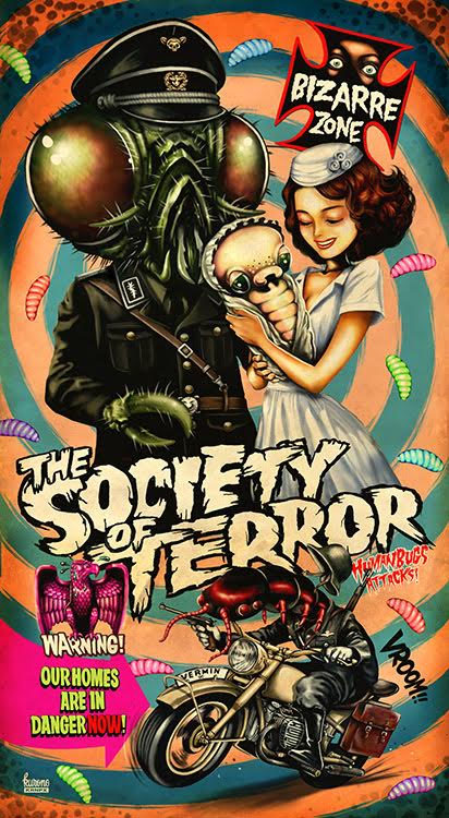 The Society of Terror - Kurono - Fine Art Japanese Print