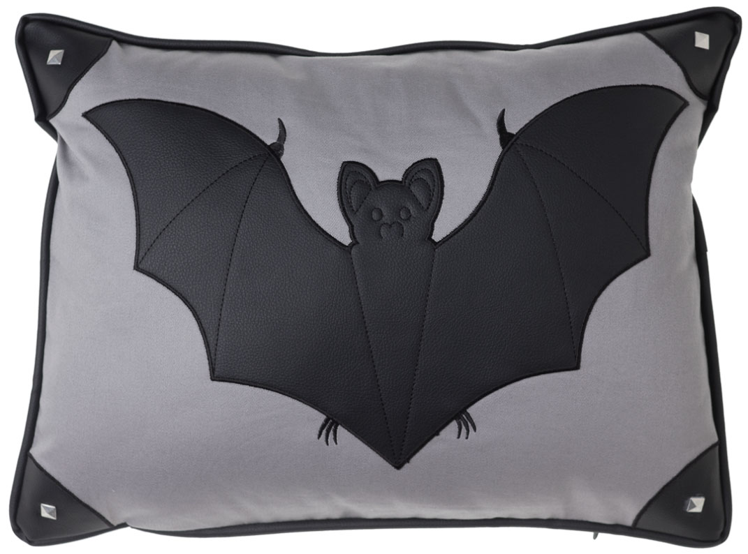 Canvas Bat Pillow by Sourpuss