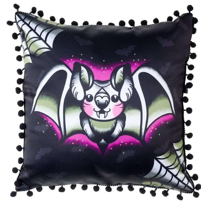 Webbed Bat Pillow by Sourpuss - SALE