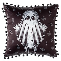 Creep Heart Ghost Pillow by Sourpuss