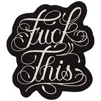 F*CK This Rug by Sourpuss