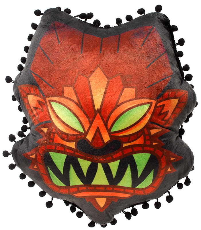 Wolfman Tiki Pillow by Sourpuss - SALE