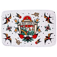Last Port Bath Mat by Sourpuss