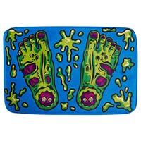 Zombie Feet Bath Mat by Sourpuss