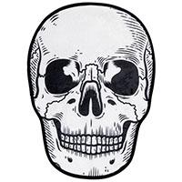 Skull Bath Mat by Sourpuss
