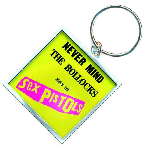 Sex Pistols- Never Mind The Bollocks metal keychain