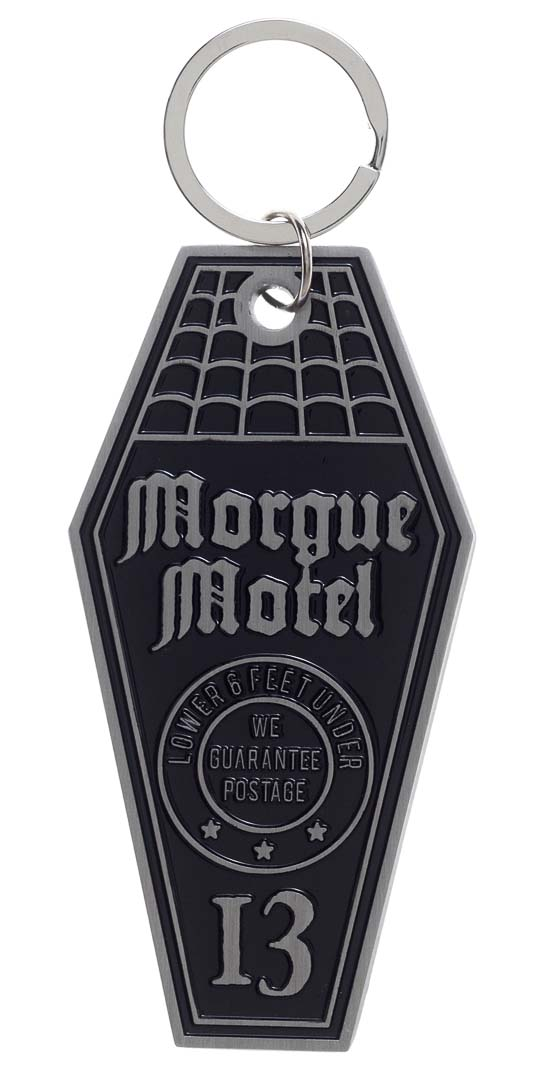 Morgue Hotel Keychain by Sourpuss