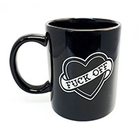 F**k Off & DIe Mug from Sourpuss