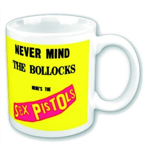 Sex Pistols- Never Mind The Bollocks coffee mug