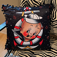 Buoy Cupie Baby Pillow by Sourpuss - square
