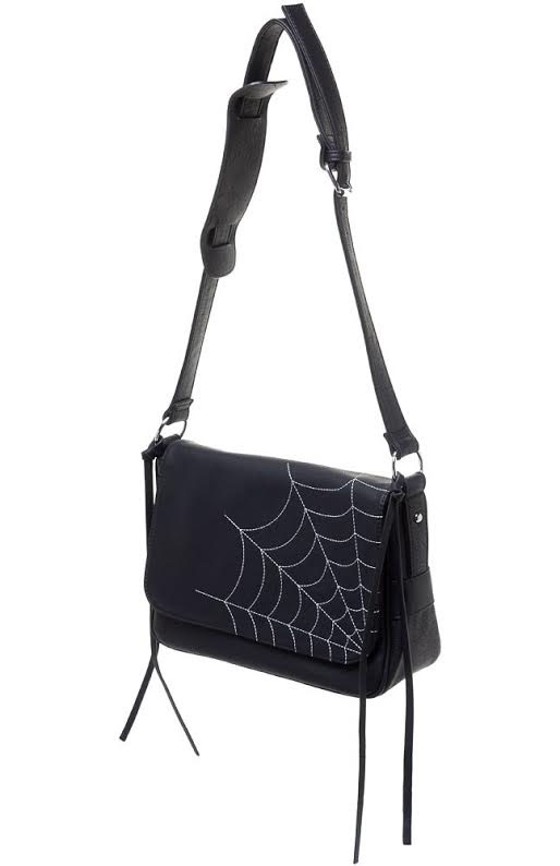 Cheap Thrills Purse  by Sourpuss - Spiders Web - SALE