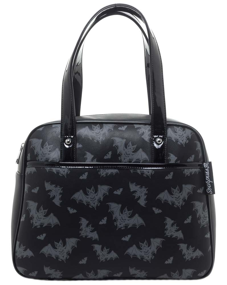 Batt Attack Bowler Purse by Sourpuss