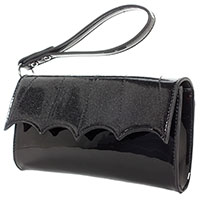 Bat Wing Wristlet Purse by Sourpuss
