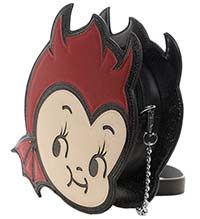 Cupie Devil Sparkle Purse in by Sourpuss