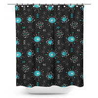 Atomica Shower Curtain by Sourpuss