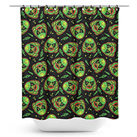 Creature Shower Curtain by Sourpuss