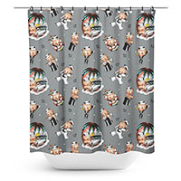 Sailor Kewpie Baby Shower Curtain by Sourpuss
