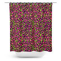 Hot Pink Leopard Shower Curtain by Sourpuss