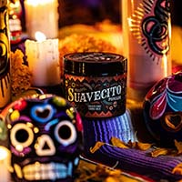 Suavecito Pomade- Fall 2019 Dia De Los Muertos Strong/Firme Hold (Calaca Sage Scent)
