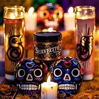 Suavecito Pomade- Fall 2019 Dia De Los Muertos OG Hold (Calaca Sage Scent)