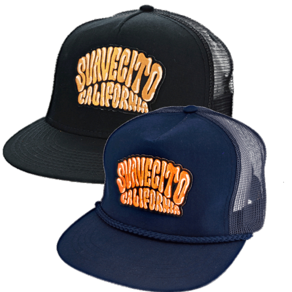 Suavecito Pomade- Cruisin' Logo trucker hat