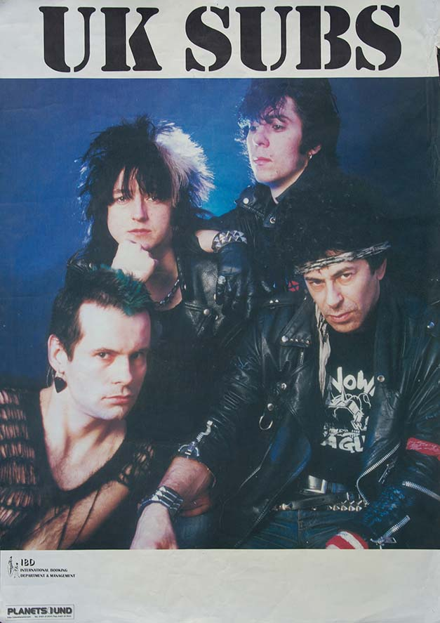 UK Subs Publicity Shot Poster - Fine Art Print by Annex