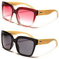 Superior Classic Bamboo Sunglasses (Various Colors)