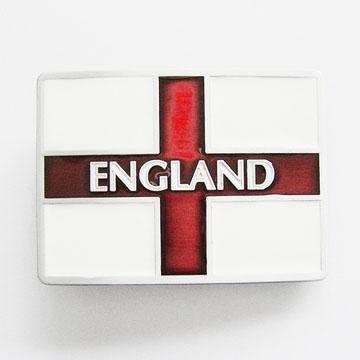 England Flag Belt Buckle (bb163)