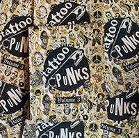 Tattoo Punks Volume Three - Tattoo Art Book