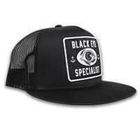 Tip Top Black Eye Specialist (Barber) Snapback Patch Hat