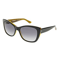 Petrillo Womens Sunglasses by Tres Noir- Black & Honey