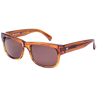 Upstart Sunglasses by Tres Noir- Amber / Brown Lens