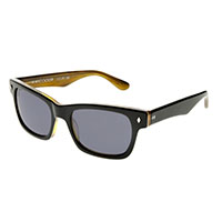Waycooler Sunglasses by Tres Noir- Black/Honey Tortoise