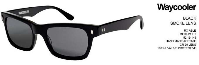 e9086b1a6b67 Waycooler Sunglasses by Tres Noir- Black