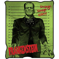 Frankenstein Micro-Plush Blanket
