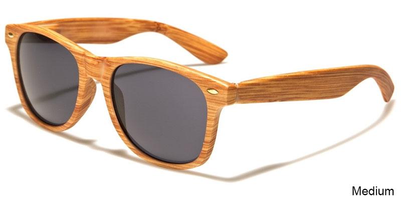 Wood Print Sunglasses (Various Colors)