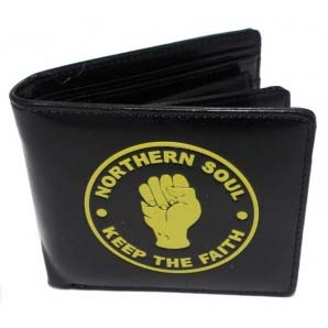 Northern Soul Wallet by Warrior Clothing