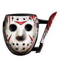Friday The 13th- 3D Sculpted Mask & Machete 20 oz Jumbo Mug