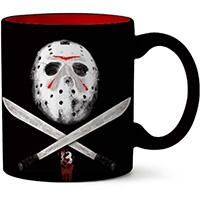 Friday The 13th- Mask & Machetes 20oz Jumbo Mug