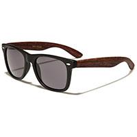 Black/Wood Sunglasses (Various Colors)