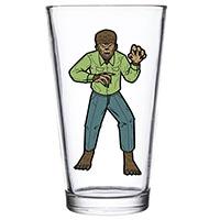Wolfman Pint Glass