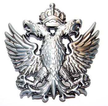 Double Headed Eagle belt buckle (bb287)