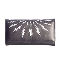 Thunderbolt Wallet/Clutch by Banned Apparel