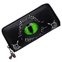 Astral Voyage Seeing Eye Wallet/Clutch by Banned Apparel