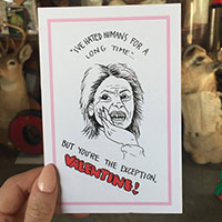 Aileen Wuornos Serial Killer Valentine by Graveface Records